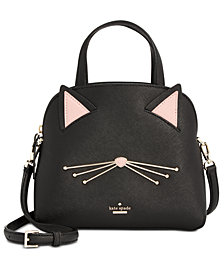 kate spade new york Cat's Meow Cat Lottie Satchel