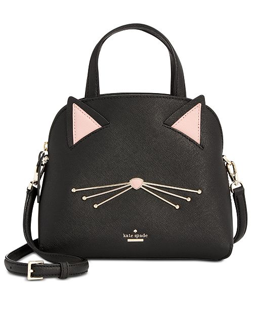 96c5f62089b2 kate spade new york Cat's Meow Cat Lottie Satchel & Reviews ...