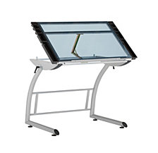 Triflex Glass Drawing Table