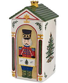 Spode Christmas Tree Nutcracker Cookie Jar