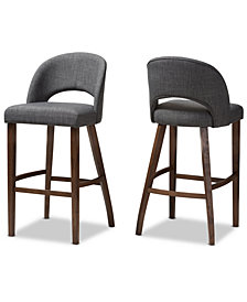 Pryston Bar Stool (Set Of 2), Quick Ship