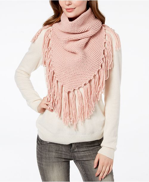 e7ec87c6d1a Steve Madden Fringe Triangle Snood Scarf. This product is currently  unavailable