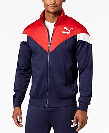 Puma Men's MCS Colorblocked Track Jacket