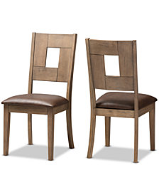 Gizela Side Dining Chair (Set Of 2), Quick Ship