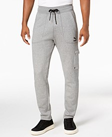 Men's Fleece Cargo Joggers