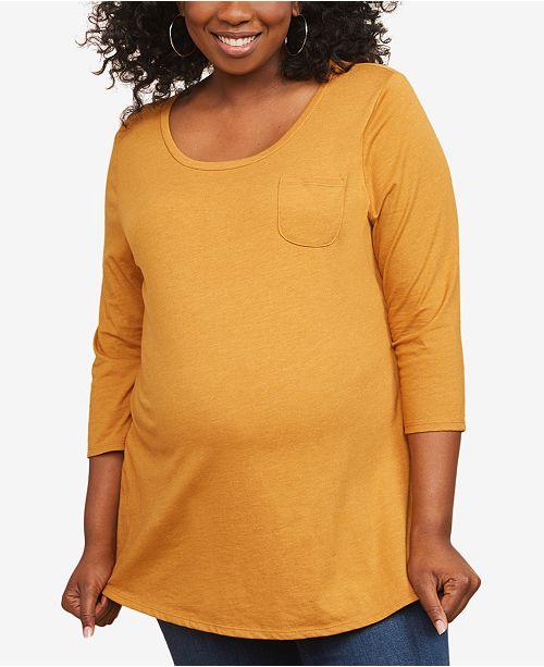 Motherhood Maternity Plus Size Jersey T-Shirt