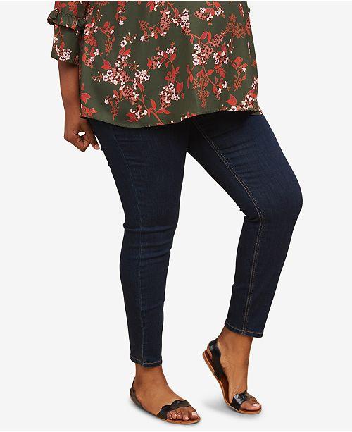 68ef6d46a845d Motherhood Maternity Plus Size Skinny Jeans - Maternity - Women - Macy s