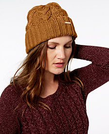 MICHAEL Michael Kors Pointelle Cable Cuff Beanie, Created for Macy's
