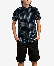 RVCA Men's Slim-Fit Mini-Paisley Shirt