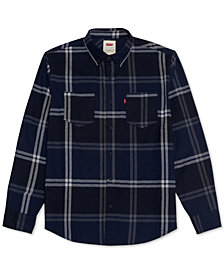 Levi's® Men's Plaid Two-Pocket Shirt