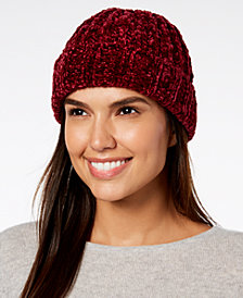 I.N.C. Chenille Shine Beanie, Created for Macy's