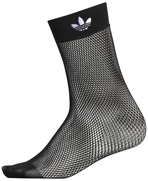431a7c7d7fb7f adidas Fishnet Ankle Socks & Reviews - Women's Brands - Women - Macy's
