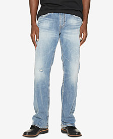 Silver Jeans Co. Men's Zac Relaxed Straight-Fit Stretch Jeans