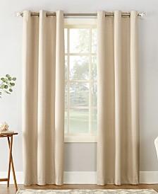 "Sun Zero Cooper 40"" X 95"" Textured Thermal Insulated Grommet Curtain Panel"