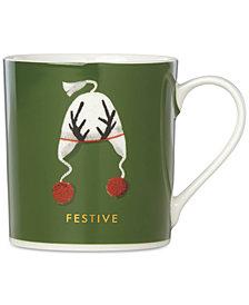 kate spade new york Things We Love Festive Hat Mug