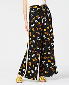 PROJECT 28 NYC  Floral-Print Pull-On Pants