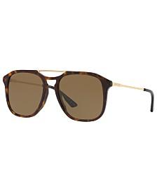 Gucci Sunglasses, GG0321S 55