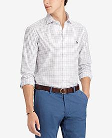 Polo Ralph Lauren Men's Classic-Fit Tattersall Shirt