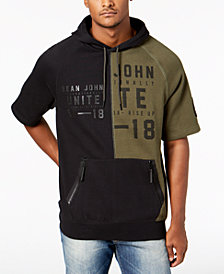 Sean John Men's Split Colorblocked Hoodie