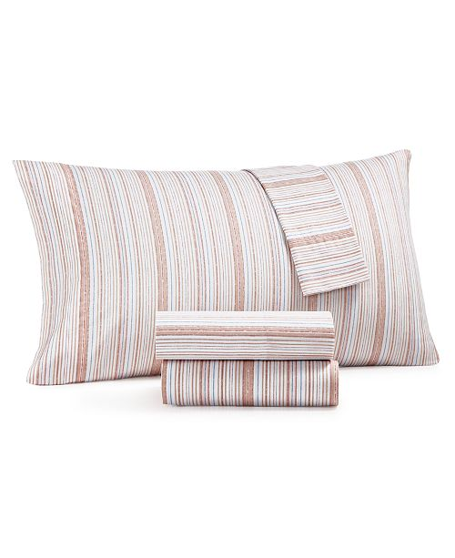 Martha Stewart Collection CLOSEOUT! 3-Pc. Twin Sheet Set, 400 Thread Count 100% Cotton Percale, Created for Macy's