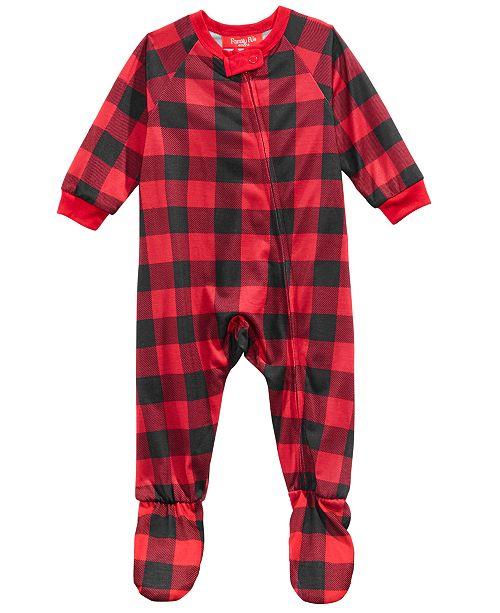 Family Pajamas Matching Infants Fleece Navidad Footed Pajamas ... b4bc5756e