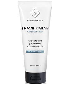 Watermint Gin Shave Cream, 3.2-oz.