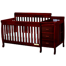 Kimberly Crib & Charger, Cherry