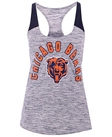 5th & Ocean Women's Chicago Bears Space Dye Tank