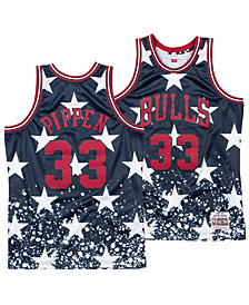 Mitchell & Ness Men's Scottie Pippen Chicago Bulls The 4th Swingman Jersey