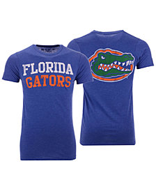 Retro Brand Men's Florida Gators Team Stacked Dual Blend T-Shirt