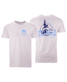 Retro Brand Men's North Carolina Tar Heels Fishing Graphic T-Shirt