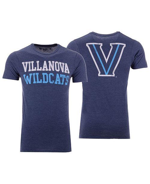 Retro Brand Men's Villanova Wildcats Team Stacked Dual Blend T-Shirt