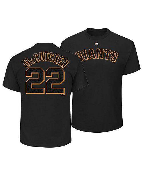 new product 43914 aa81d Majestic Men's Andrew McCutchen San Francisco Giants ...