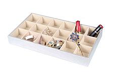 Home Basics 18 Compartment Jewelry Organizer