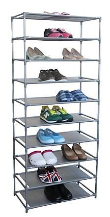 Home Basics 30 Pair Non-Woven Shoe Shelf