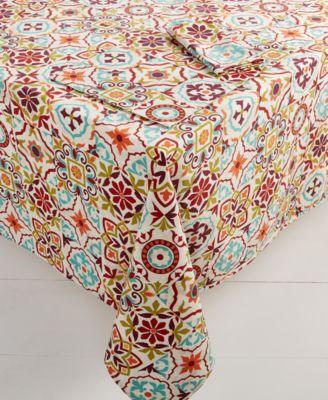 "Worn Tiles  60"" x 84"" Tablecloth"