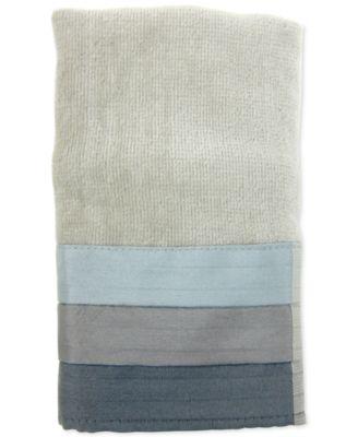 Fairfax Cotton Pieced Coloblocked Fingertip Towel