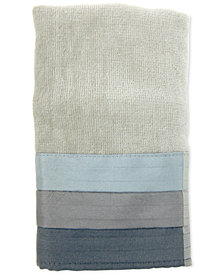 Croscill Fairfax Cotton Pieced Coloblocked Fingertip Towel