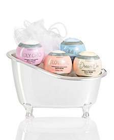 Simple Pleasures 5 Piece Fizzer In Bath Tub