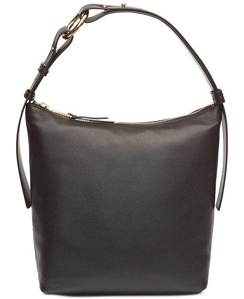a7528f95a98 Calvin Klein Liana Pebble Leather Hobo & Reviews - Handbags ...