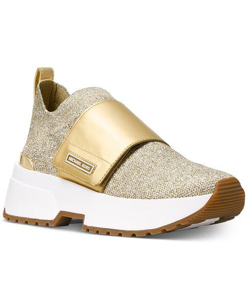 56634f2fac Michael Kors Cosmo Knit Slip-On Sneakers   Reviews - Sneakers ...
