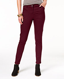 Style & Co Petite Bandit Skinny Pants, Created for Macy's