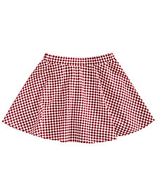 Epic Threads Little Girls Houndstooth Scooter Skirt, Created for Macy's