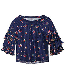Epic Threads Big Girls Floral Top, Created for Macy's