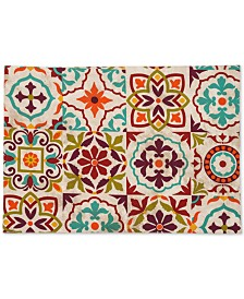 "Fiesta Worn Tiles  13"" x 19"" Placemat"