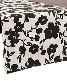 "kate spade new york Primrose Drive 15"" x 72"" Cotton Table Runner"