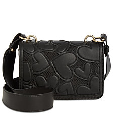 Betsey Johnson Bachelor Of Fine Hearts Crossbody