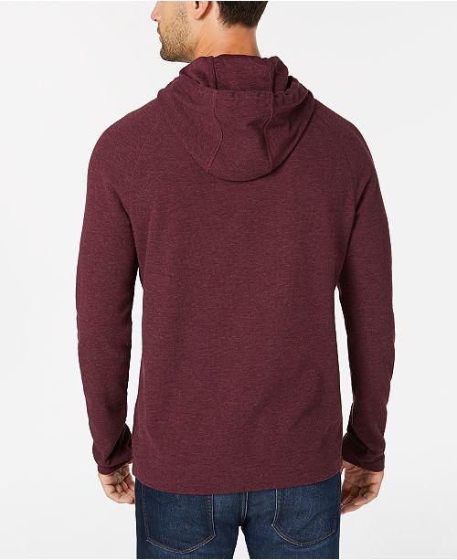 Michael Kors Men S Waffle Knit Hoodie Casual Button Down Shirts