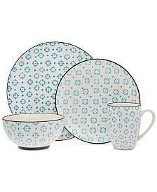 Godinger Gatherings 16-Pc. Dinnerware Set