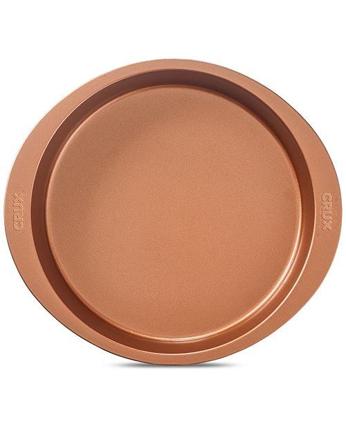 """Crux Nonstick Copper 9"""" Cake Pan"""